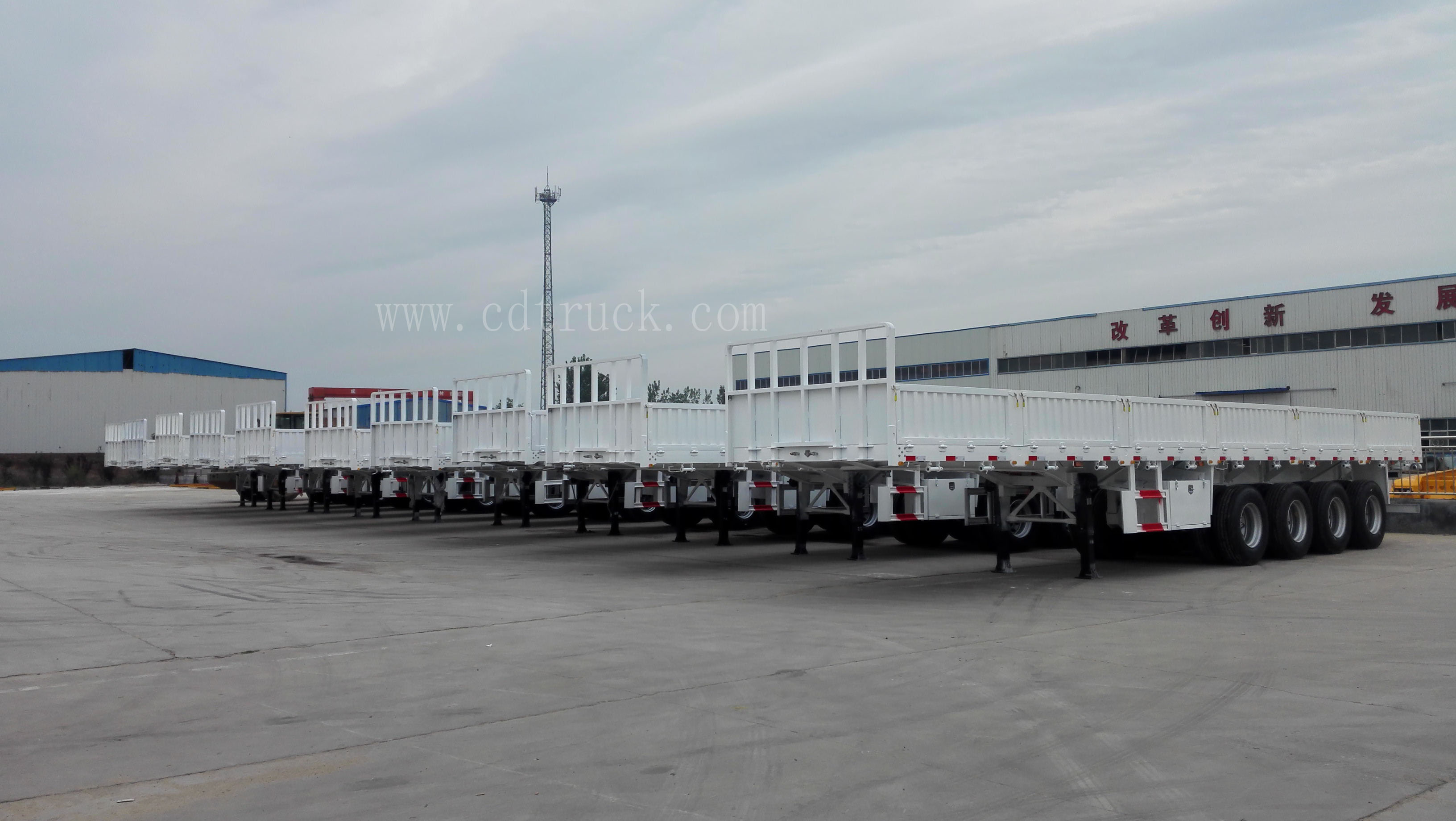 Good news,10 units flatbed semi trailers were exported to Ghana!.jpg