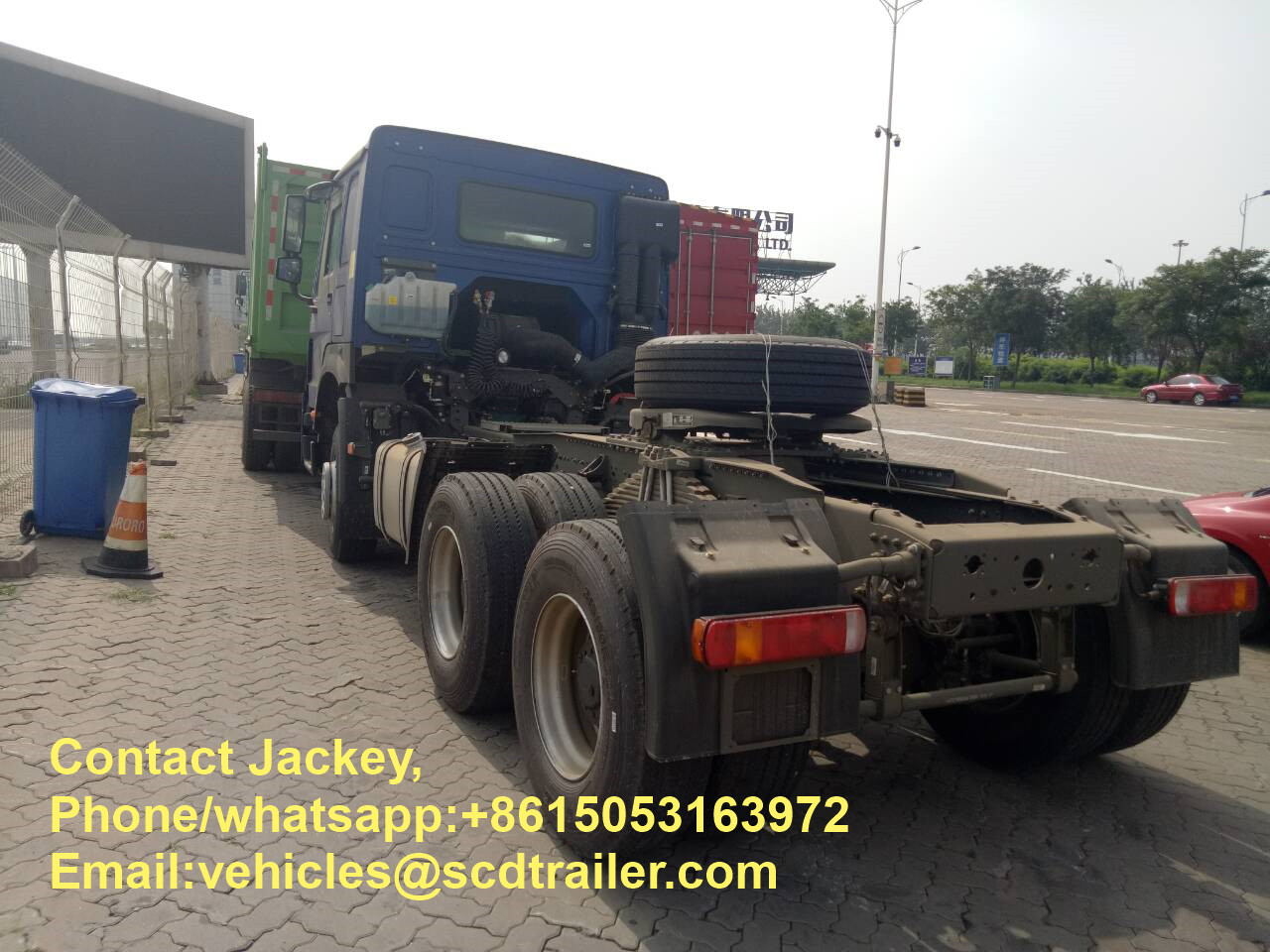 Tractor truck exported to  Malawi  (4).jpg