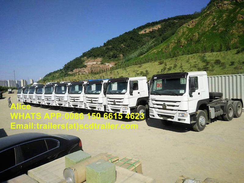 10 units of HOWO 371 tractor to Nigeria 1_副本_副本