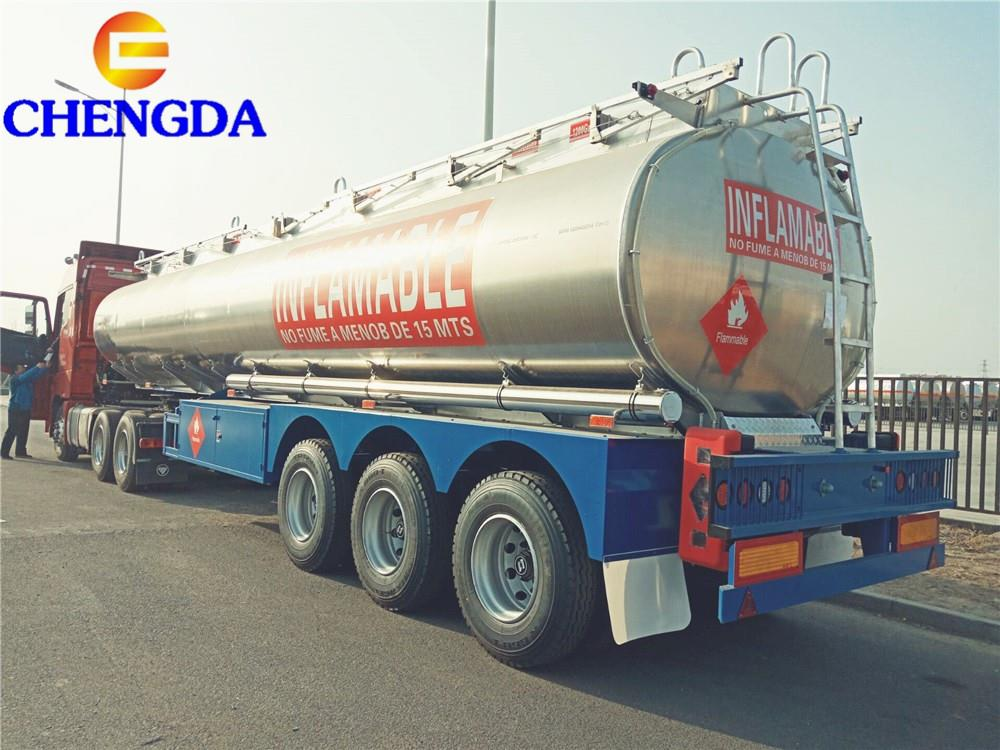 fuel tanker trailer leave factory  (6)