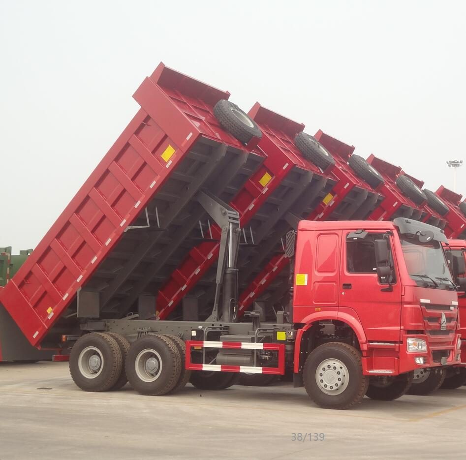 China Attractive Price  Volume Optional   371HP HOWO  6*4  Dump Truck For Sale