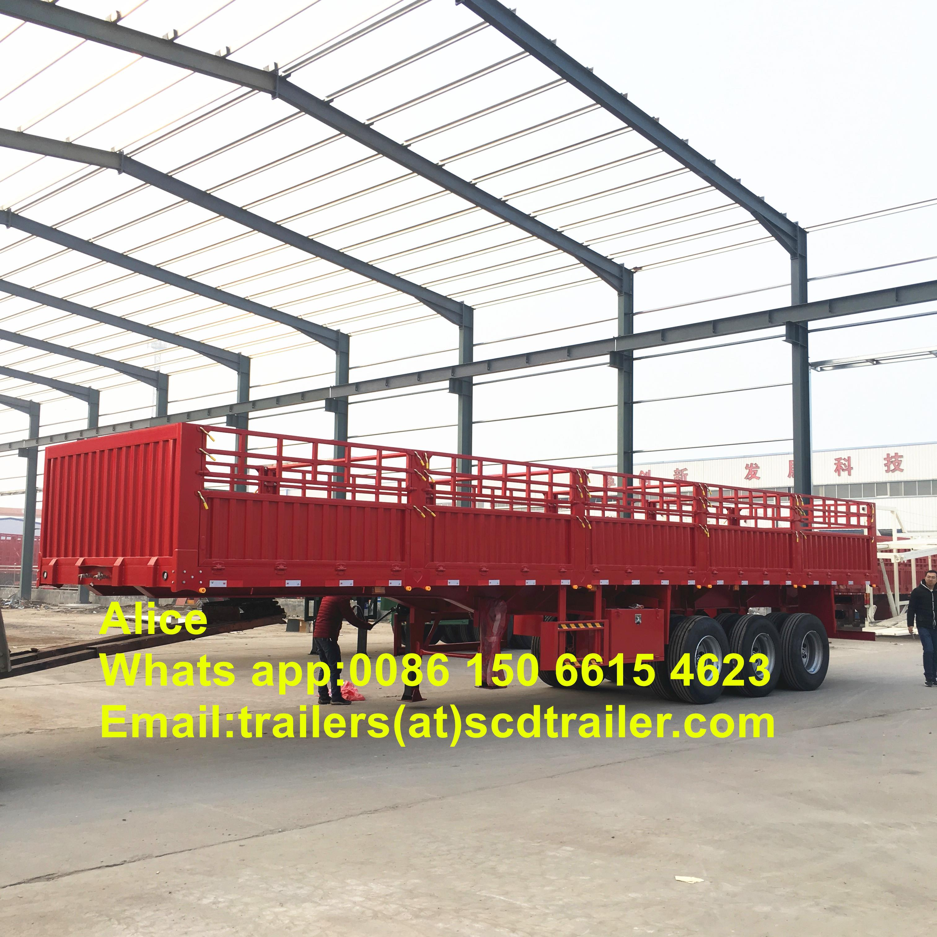 10 cargo trailers to Niger