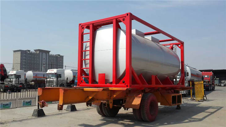 20 Ft 20ft 20 Feet 25000L ISO Carbon Steel Stainless Steel Tank Container Tank