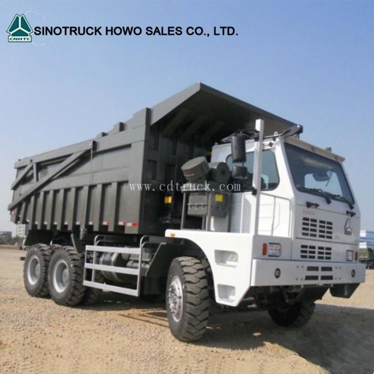 Sinotruk HOWO 6x4 70 Ton Mining Dump Truck For Sale