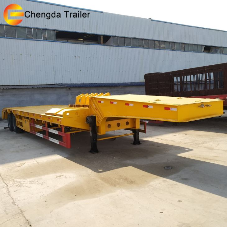 Hydraulic Rgn Gooseneck Livestock Trailer New Lowboy Trailers For Sale
