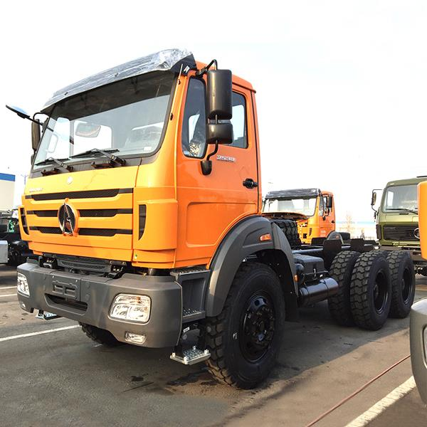 China BEIBEN 6X4 Cheap 371HP 10 Wheel Commercial Diesel Tractor Prime Mover Big Truck