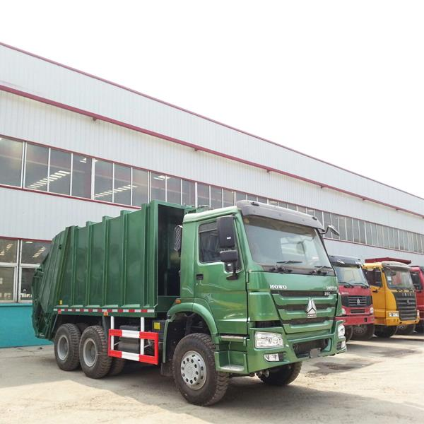 China SINOTRUK HOWO 6X4 Cheap 336HP 10 Wheeler Sanitation Garbage Compactor Truck