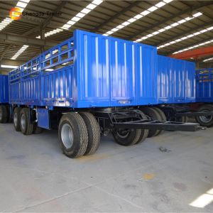 3 Axle 30ton Drawbar Interlink Dolly Full Trailer for Sale