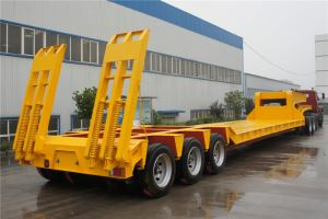 3 Line 6 Axles 120tons and 150tons Lowbed Lowboy Low Loader Trailer