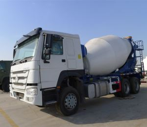 371HP 10 Wheeler 8 Cubic Meters Concrete Drum Mixer Truck