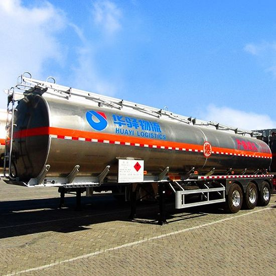 Oil Fuel Tanker Tank Semi Trailer