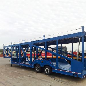 2/3 Axles Hydraulic Semi Trailer Car Carrier Truck Transporter