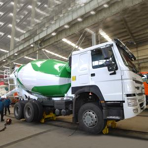 China SINOTRUK HOWO 6X4 Cheap 336HP 10 Wheeler 8M3 9CBM 12M3 Concrete Mixer Tank Truck with Eaton Pump
