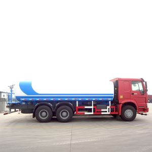 China SINOTRUK HOWO 20000Liters 10 Wheeler Water Spraying Tank Tanker Truck Sale