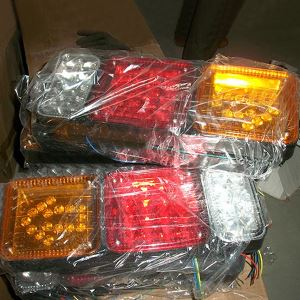 Truck and Trailer Rear Tail Side Turn Signal Lights