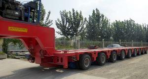 200 Ton Multi Axle Hydraulic Modular Trailer