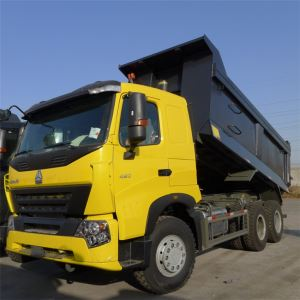 SINOTRUCK HOWO Gravel and Mine A7 10 Wheeler 420HP Tipper Dump Truck