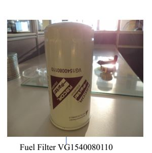SINOTRUK HOWO A7 Original Fuel Filter VG1540080110
