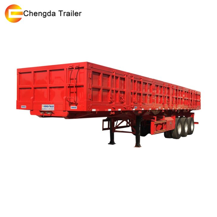 3 Axles 60tons Side Tipper