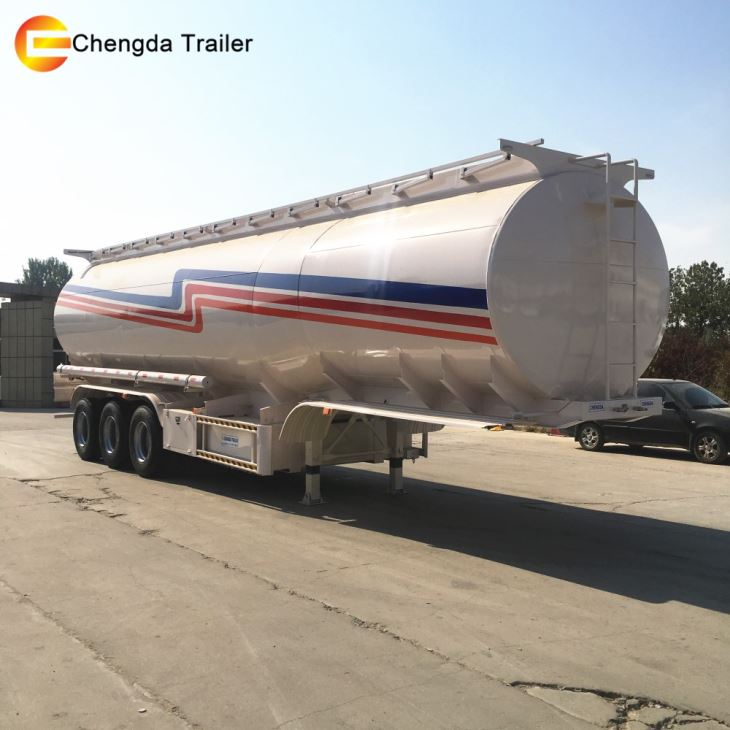 3axles 45000l 3 Compartments Fuel Tank Trailer