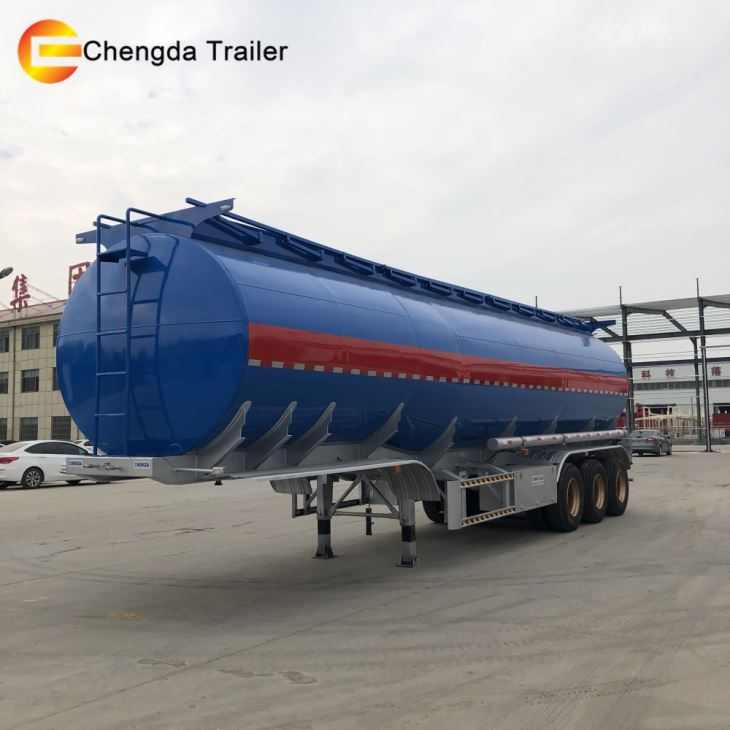 Factory Price Oil Tanker Trailer Fuel Tank Trailer To Malawi Mali