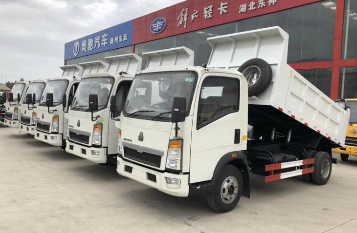 Low Price Light Truck 4*2 Diesel Mini Cargo Truck For Sale