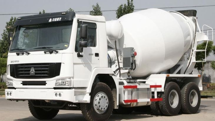 Sinotruk Howo 371hp 6x4 16 Cubic Meters Concrete Mixer Truck For Sale