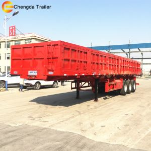 12.5M 40ton Side Tipping Semi Trailer