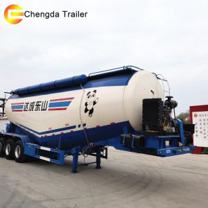 45cbm Heavy Duty Cement Tank Semi Trailer