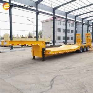 60 Tons Excavator Semi Trailers For Sale