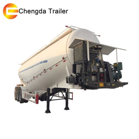 China 3 Axles 50ton 60ton Cement Bulker Silo Trailer