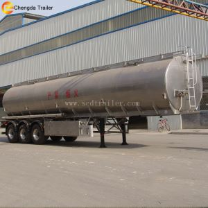 High Quality 3 Axles 42000 Liters 45000 Liters Aluminum Fuel Tanker Trailer For Sale