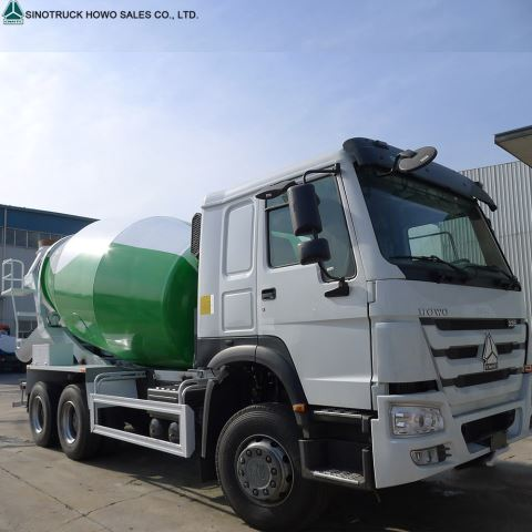 Sinotruck Howo Concrete Mixer Truck For Sale