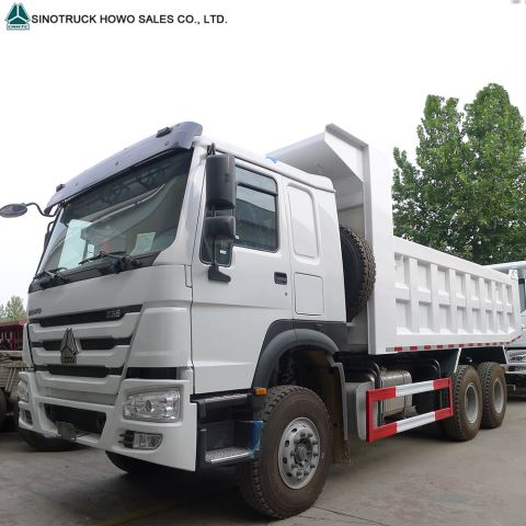 Howo 10 Wheel 16 Cubic Meter Volume Sand Tipper Dump Truck For Sale