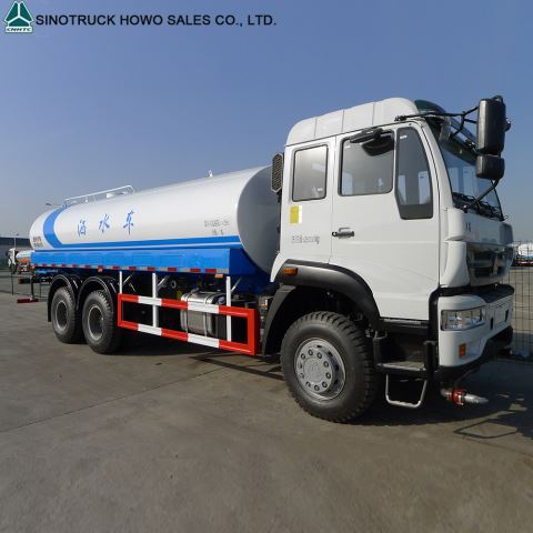 Sinotruck 6x4 336HP 20 CBM Water Tank Truck For Sale