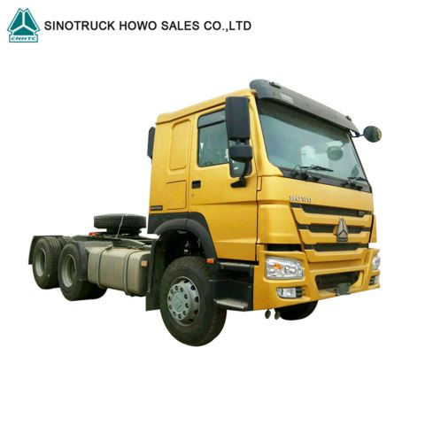 SINOTRUCK HOWO 6X4 Cheap 371HP 10 Wheeler Tires Commercial Tractor Prime Mover Truck Tractor