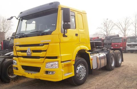 SINOTRUK HOWO Prime Mover 10 Wheelers Tractor Truck Head For Sale