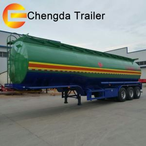 Tri-Axles 44000 48000 Liters Oil Fuel Tanker Tunker Tank Trailer