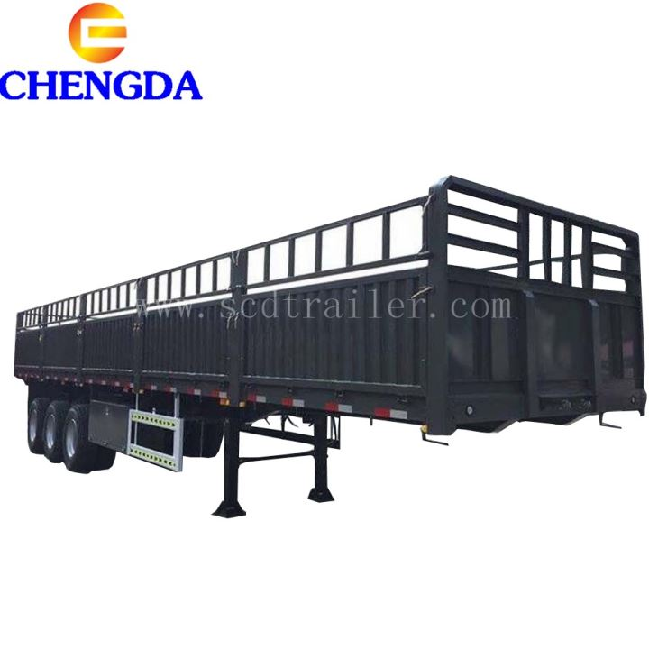 3/4 Axle Heavy Duty Semi Trailer With Removable Side Wall