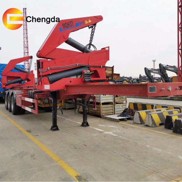 3 Axle Self Loader Container Loader Trailer