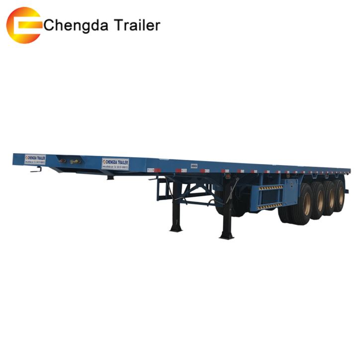 3 Axles 20ft 40ft Container Trailer