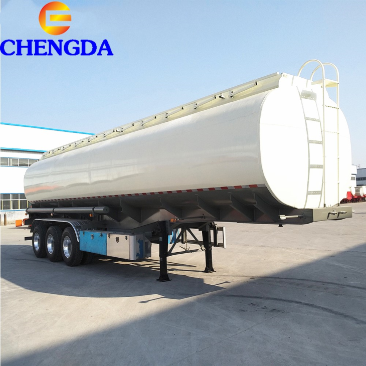 3 Axles 45000liter 3 6 Compartments Fuel Tank Trailer
