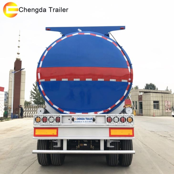 40000liters Carbon Steel Iron Fuel Tank Trailer