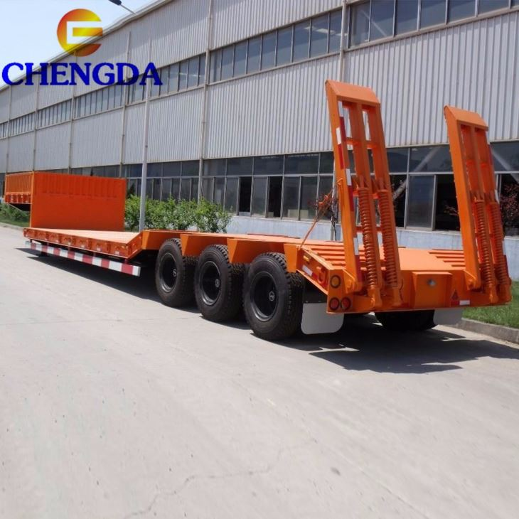 40ft Extendable Low Bed Semi Trailer