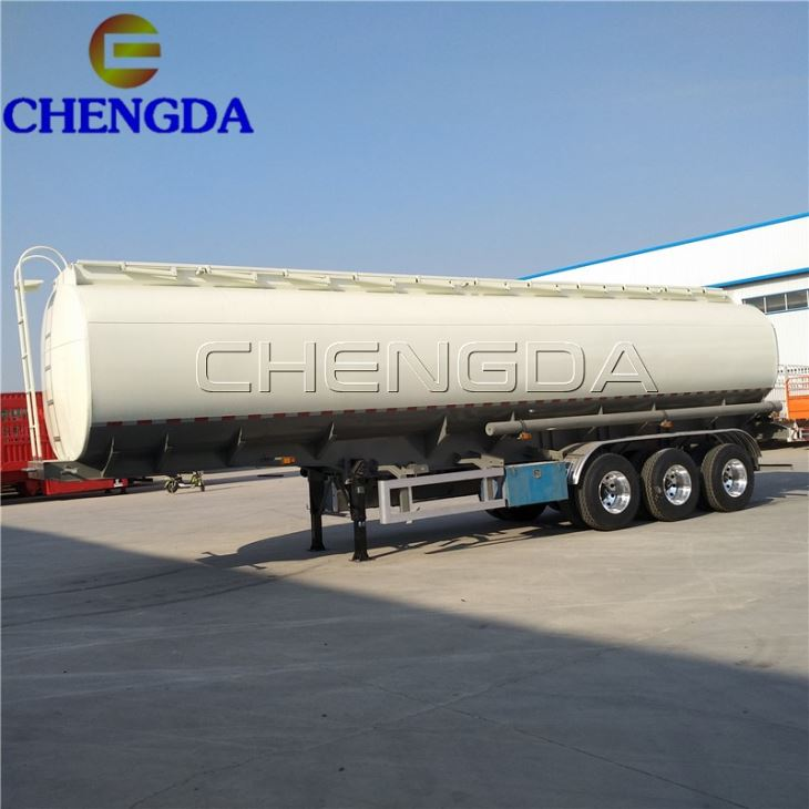 40kl 8 Compartment Fuel Tanker Trailer Philippines