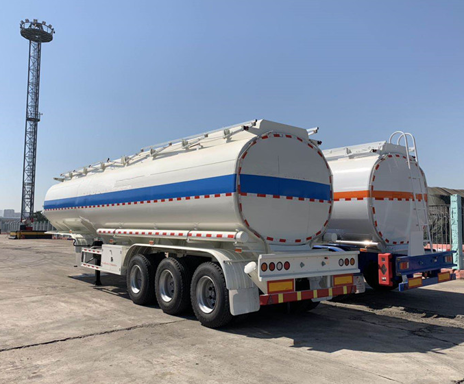 42cubic Meter Fuel Tank Trailer Export To Malawi