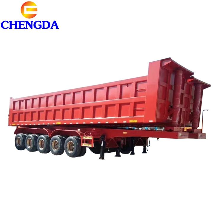 5 Axles Tipper Trailer