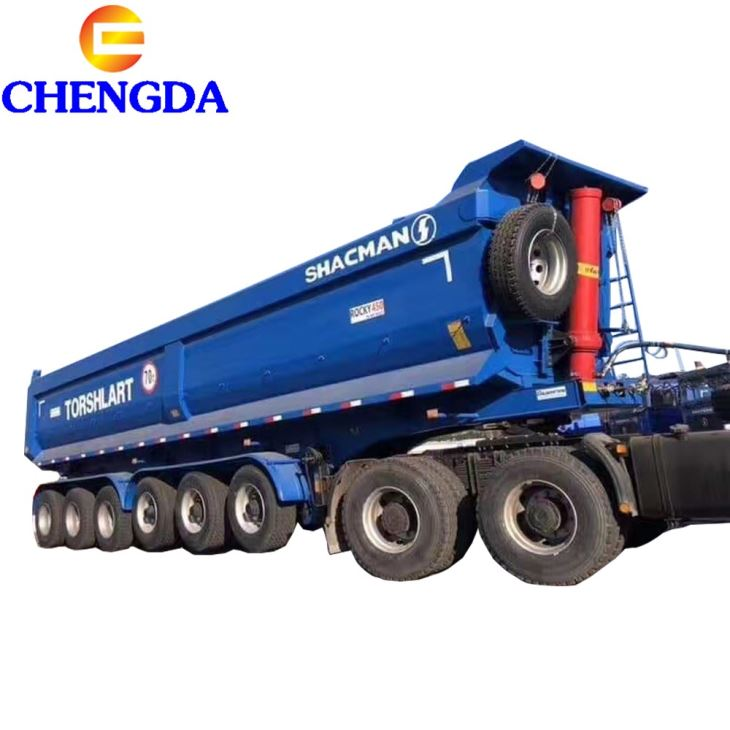 6 Axles Tipper Trailer