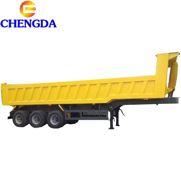 8 To 10m High Quality Brand New Dump Trailer