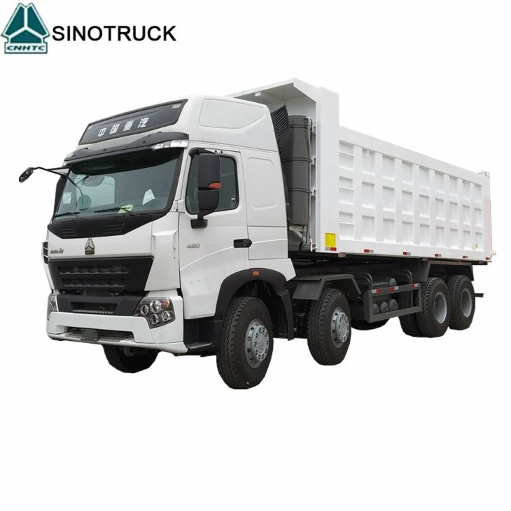 A7 8*4 420hp Dump Truck For Philippines